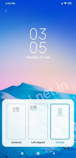 MIUI 10.3.5.0 Stable Update for Poco F1 Clock Format