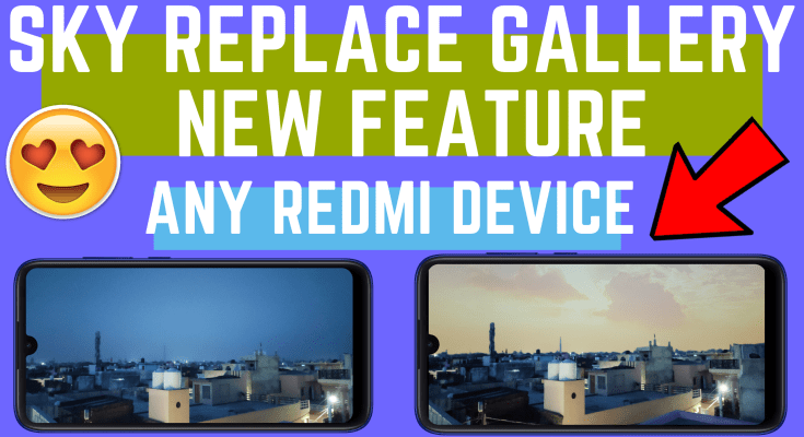 miui sky replacement in Any redmi device