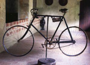 Bicicletta Alfredo Oriani nel Cardello