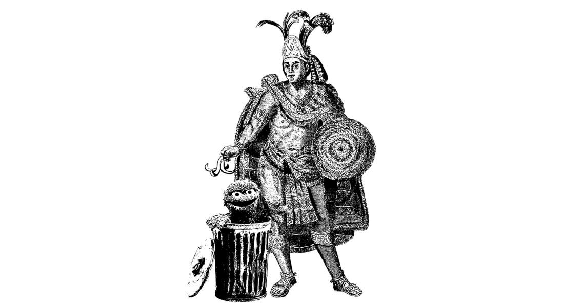 Los aromas de Tenochtitlan. Ilustración de Archivo MV