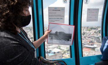 Recorrido guiado por la línea 2 del Cablebús con la Maestra Beatriz Ramírez