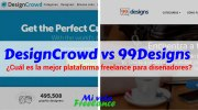 DesignCrowd Vs 99Designs: Gana dinero como diseñador freelance