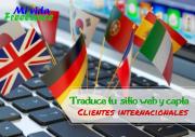 Traduce tu sitio web y capta clientes internacionales