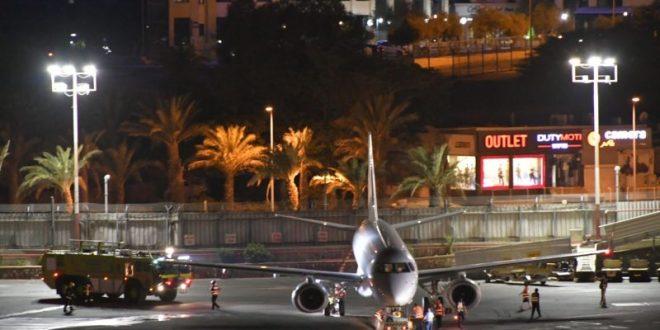 עשן עלה מגלגל המטוס, נוהל חירום הוכרז בשדה התעופה באילת