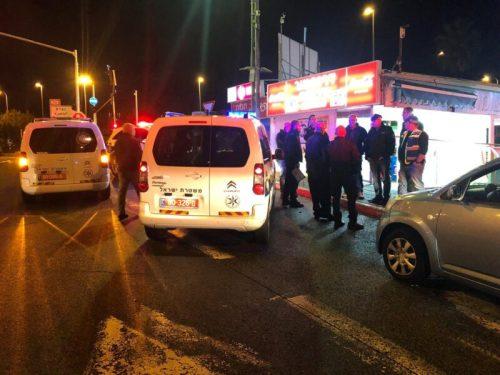 תושב נצרת כבן 60 נורה הערב סמוך למרכז המסח...