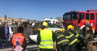 כביש 60 - צוותי לוחמי אש פעלו בחילוץ לכודי...