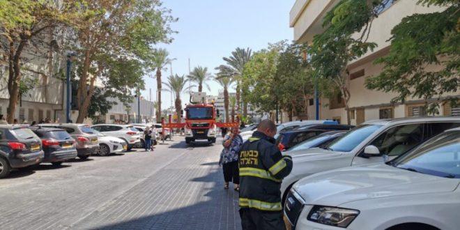 שריפה במלון מג'יק פאלאס באילת: 3 נפגעים מאיפת עשן פונו ליוספטל