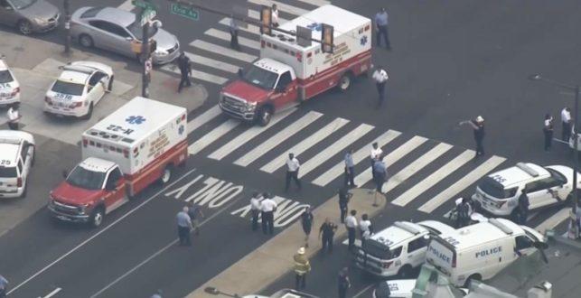 """שידור חי: לפחות 6 שוטרים נפצעו באירוע ירי בפילדלפיה בארה""""ב"""
