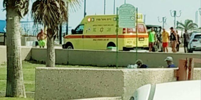 בת 40 טבעה סמוך לחוף הקשתות באשדוד, מצבה אנוש