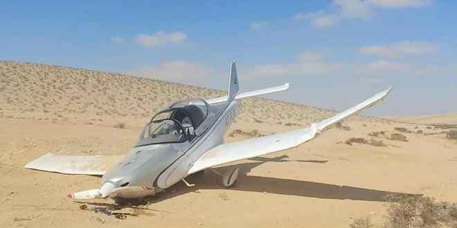 """""""בוא נצא מפה… זה מפחיד"""": תיעוד התרסקות מטוס קל בדרום הארץ"""
