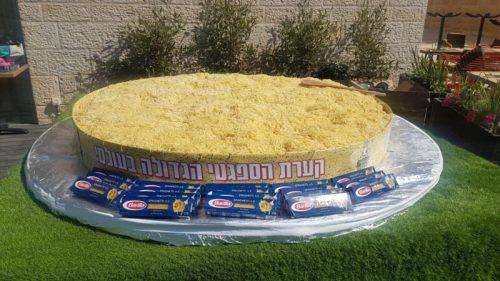 -הפסטה-הגדולה-בעולם-צילום-ליאו-500x281 שיא גינס ישראלי חדש: קערת הפסטה הגדולה ביותר בעולם