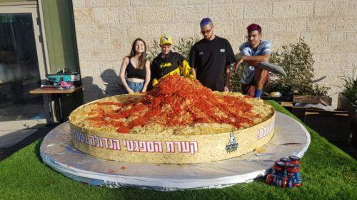 -שיא-צילום-ליאו-3-500x281 שיא גינס ישראלי חדש: קערת הפסטה הגדולה ביותר בעולם