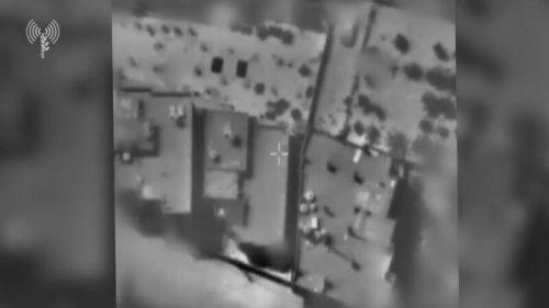 """1620917450_דובר-צהל-כלי-טיס-תקפו-דירה-מבצעית-של-סגן-מפקד-500x281 תיעוד: תקיפות צה""""ל של חוליות ומשגרי נ""""ט של חמאס"""