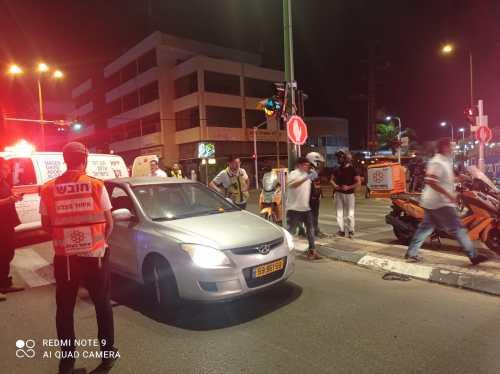 WhatsApp-Image-2021-05-05-at-23.14.24-500x374 רוכב אופנוע כבן 25 נפגע באורח קל בתאונת דרכים בפתח תקווה