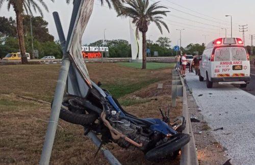 WhatsApp-Image-2021-05-07-at-19.43.56-1-500x323 רוכב אופנוע בן 44 נפצע בינוני לאחר שהחליק סמוך לבית דגן