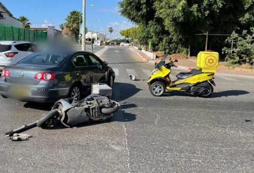 WhatsApp-Image-2021-05-18-at-08.49.56-500x340 רוכב אופנוע בן 35 נפצע קשה מפגיעת רכב בפתח תקווה