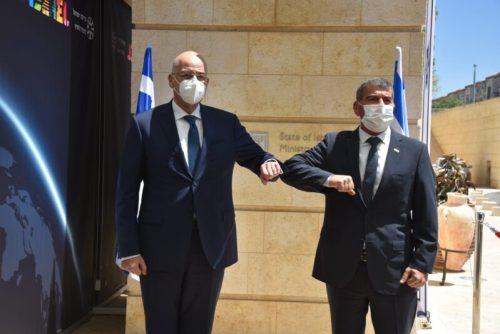 "WhatsApp-Image-2021-05-18-at-16.58.17-500x334 שר החוץ למקבילו היווני: ""ביקורך עדות ליחסים הקרובים בין המדינות"""