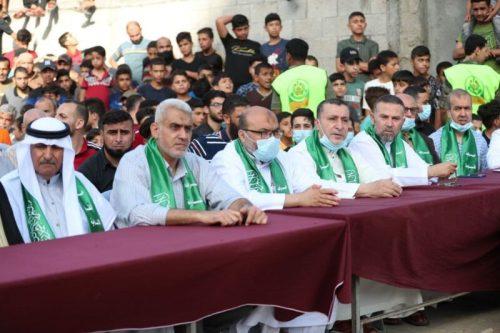 photo5298700161393996672-500x333 חמאס קיים עצרת המונית לרגל ''ניצחון ההתנגדות בקרב על חרב ירושלים''