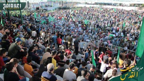 photo5298700161393996676-500x281 חמאס קיים עצרת המונית לרגל ''ניצחון ההתנגדות בקרב על חרב ירושלים''