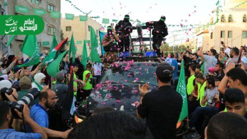 photo5875446632101820032-500x281 חמאס קיים עצרת המונית לרגל ''ניצחון ההתנגדות בקרב על חרב ירושלים''