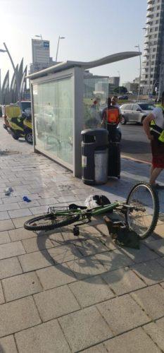 WhatsApp-Image-2021-06-11-at-18.37.18-233x500 תאונת אופניים באשדוד: בן 40 פונה לבית החולים ללא הכרה ובמצב קשה