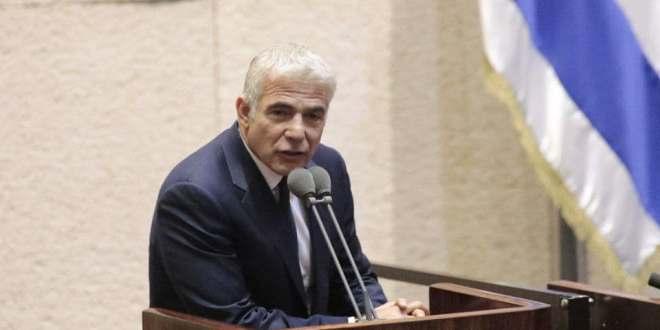 """הנאום שלפיד לא נשא: """"אנחנו צריכים לתקן את הדמוקרטיה הישראלית"""""""