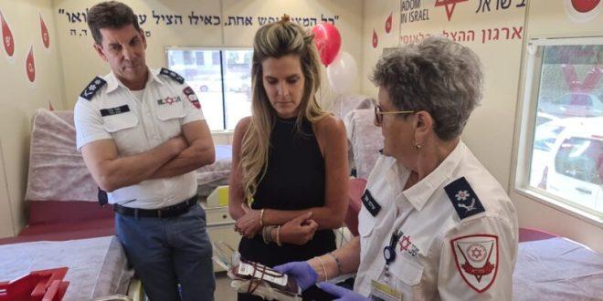 """מנכ""""לית פייסבוק ישראל: שואפים להפוך את תרומת הדם למשימה פשוטה"""
