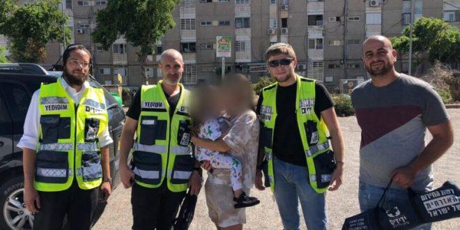 אשדוד: פעוטה ננעלה בשגגה ברכב לעיני אימה וחולצה בשלום