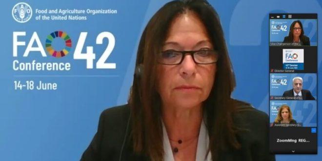 """לראשונה: ישראל מנהלת את הוועידה הבינלאומית של ארגון המזון והחקלאות של האו""""ם"""
