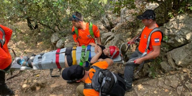 מטיילת בת 53 נפצעה וחולצה בשלום בנחל כזיב