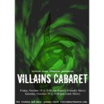 Halloween Villains Cabaret