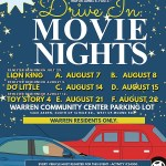 Drive-In Movie Nights Come to Warren