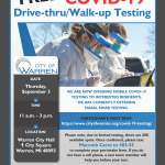 FREE COVID-19 Testing on September 3, 2020