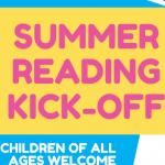 Summer Reading Kick-off at Veterans Park