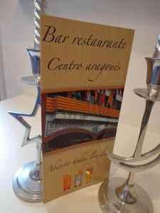 Menú restaurante cartas
