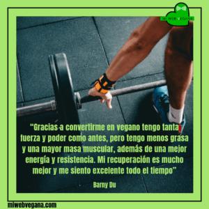#deportistasfamososveganos #barnydu #culturistavegano #dietavegana #haztevegano #govegan #vegetariano #vegetarian