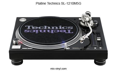 platine-technics-SL1210M5G