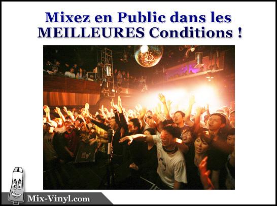 Cours DJ mixer en public
