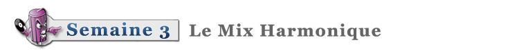formation dj mix harmonique