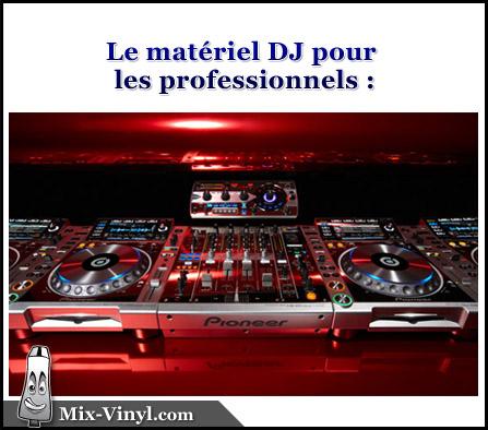 materiel dj professionnel
