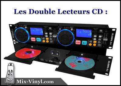 double lecteur cd