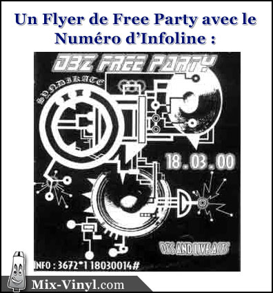 flyer free party