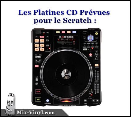 platine cd scratch