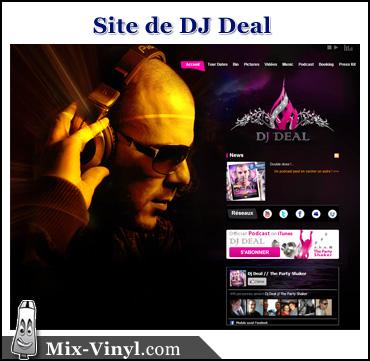 site internet dj