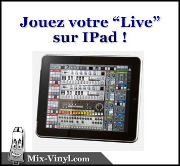 Le DJing Live sur IPad