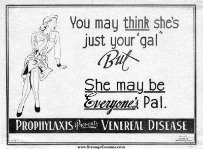 """""""Μπορεί να νομίζεις ότι είναι μόνο δική σου κοπέλα, αλλά εκείνη μπορεί να είναι η κοπέλα όλων. Τα προφυλακτικά προλαμβάνουν τις σεξουαλικά μεταδιδόμενες ασθένειες."""""""