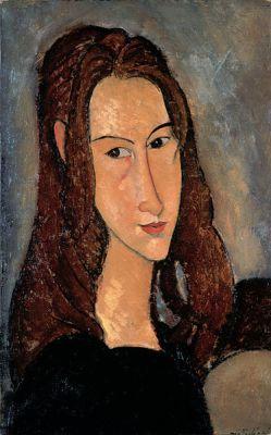 Πορτρέτο της Ζαν από τον Μοντιλιάνι. 1918