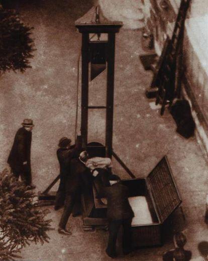 guillotine 1939