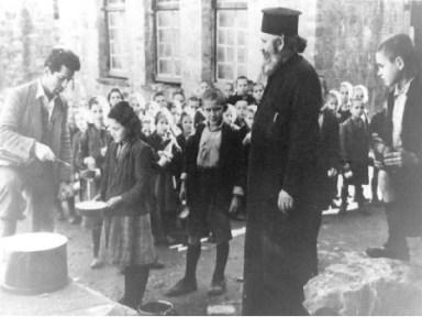 Ο Αρτέμης Μάτσας και τα αδέλφια του τρέφονταν στα συσσίτια κατά την Κατοχή