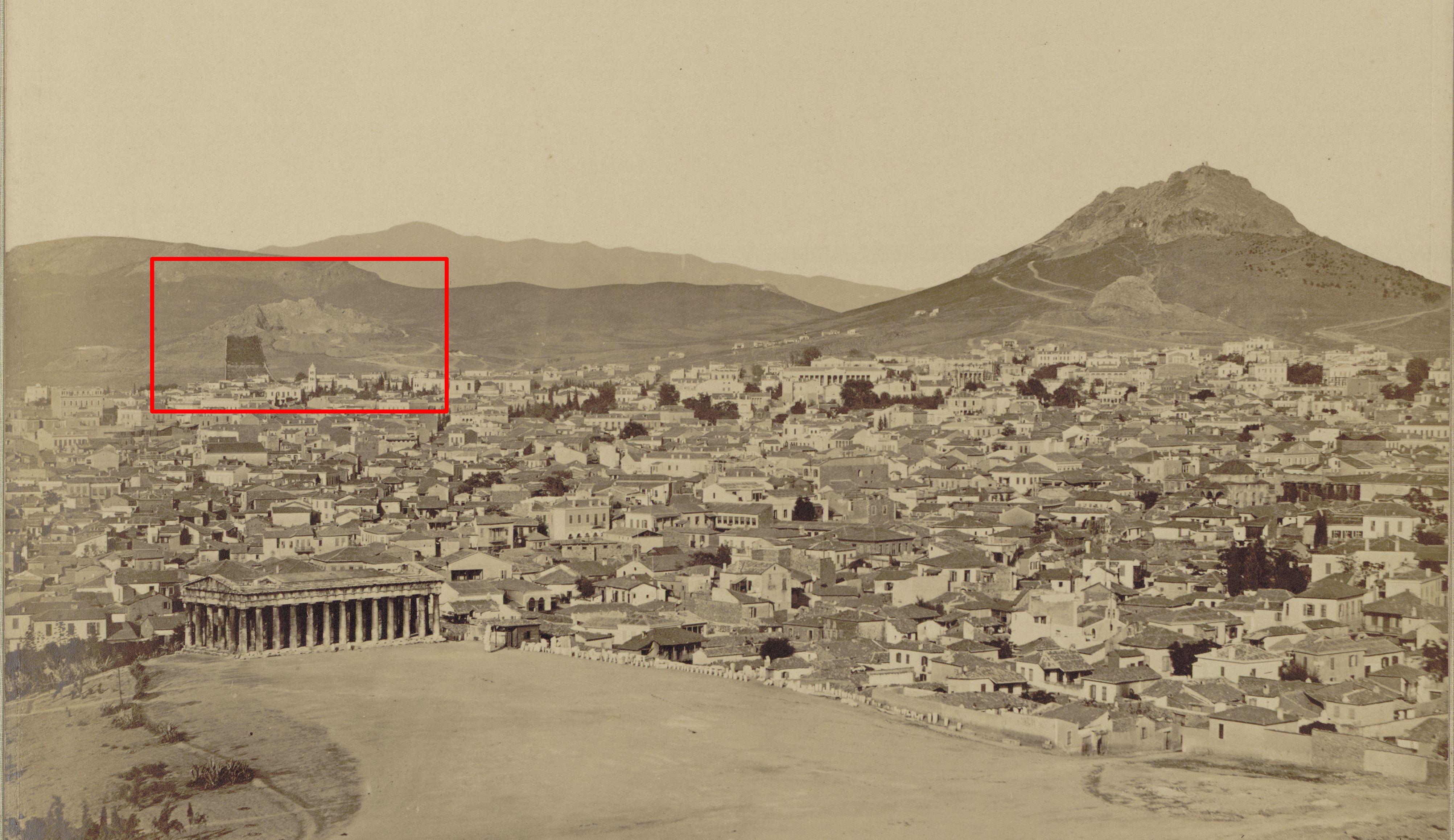Ο λόφος του Στρέφη στα Εξάρχεια ήταν νταμάρι. Μια σπάνια φωτογραφική αποτύπωση. Πως τον πρασίνισε η κρεβατομουρμούρα της κυρίας Στρέφη (βίντεο)